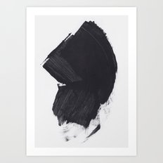Acrylic on paper Art Print