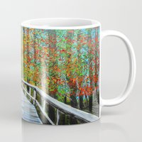 Walkway  In The Woods  Mug
