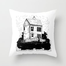 A House in Newfoundland Throw Pillow