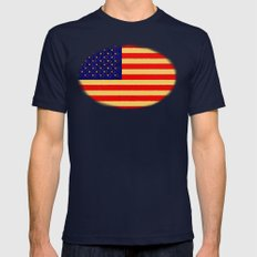 CHINA WEST - 022 Mens Fitted Tee Navy SMALL