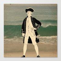 Great Explorers - Captai… Canvas Print