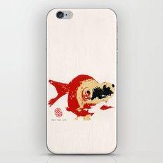 Gold Fish 2 iPhone & iPod Skin