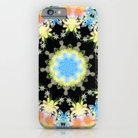 iPhone & iPod Case featuring Kaleidoscope 'Twisted Flower' by Paul James Farr