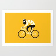 Art Print featuring Let's Ride by SpazioC