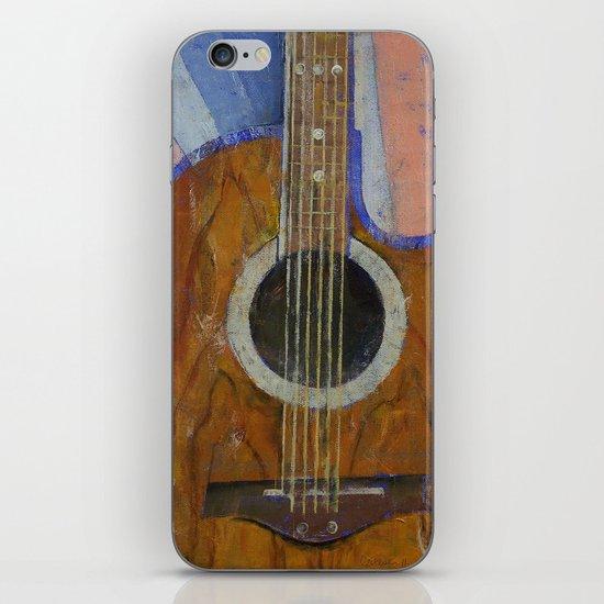 Guitar Sunshine iPhone & iPod Skin
