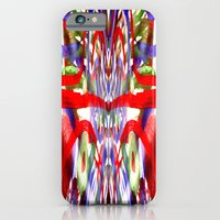 Color and lines in space iPhone 6 Slim Case