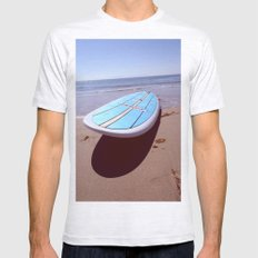 Hang Loose.  Mens Fitted Tee Ash Grey SMALL