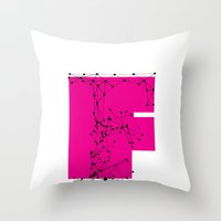 F (abstract Geometrical … Throw Pillow