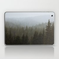 Snowy Forks Forest Laptop & iPad Skin
