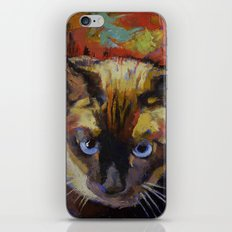 Seal Point Siamese iPhone & iPod Skin