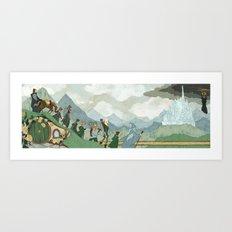 The Fellowhsip Art Print