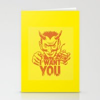 I Want You! Stationery Cards
