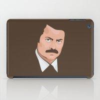 Ron Swanson iPad Case