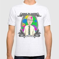 Dean Pelton Mens Fitted Tee Ash Grey SMALL