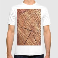 REDWOOD Mens Fitted Tee White SMALL