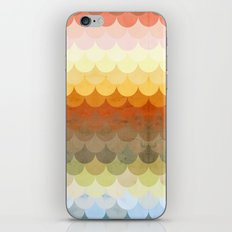 Half Circles Waves Color iPhone & iPod Skin