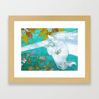 I promise to be true Framed Art Print