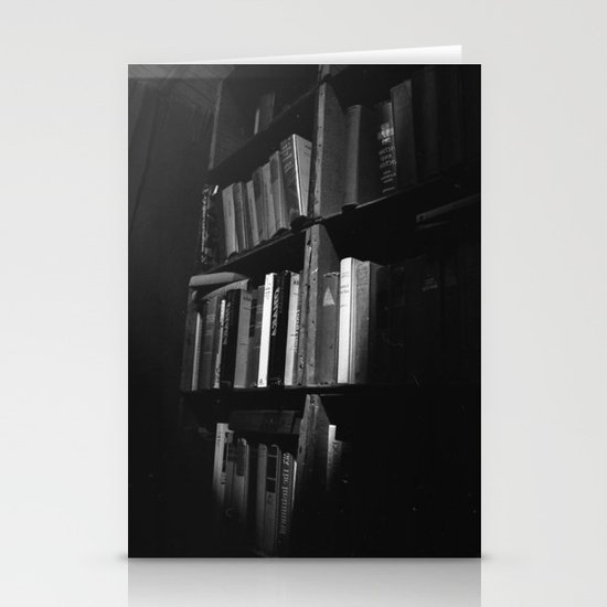 Book Case Stationery Card
