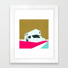 Bauhaus Meisterhaus Pop … Framed Art Print