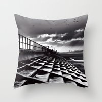 Crosby Steps Throw Pillow