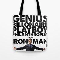 Iron Man - Genius, Billi… Tote Bag