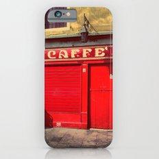 Caffè in Red iPhone 6s Slim Case