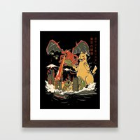 Out Of Control II Framed Art Print