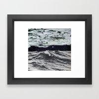 Freezing Framed Art Print