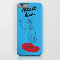 """iPhone & iPod Case featuring The Ink - """"Bien"""" by Torso Vertical, Illustration and Design"""