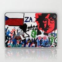 Wall of Peace, Prague #1 Laptop & iPad Skin