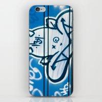 Blue Devil iPhone & iPod Skin