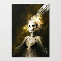 Realization Canvas Print