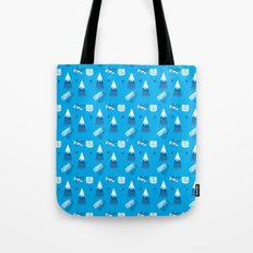 Cat in the Woods II Tote Bag