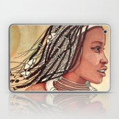 Wind in her hair Laptop & iPad Skin