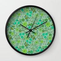 Floral2 Wall Clock