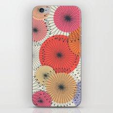 Spiral Flowers iPhone & iPod Skin