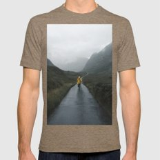 Skyfall - Landscape Photography Mens Fitted Tee Tri-Coffee SMALL