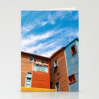 Colors At Caminito Stationery Cards
