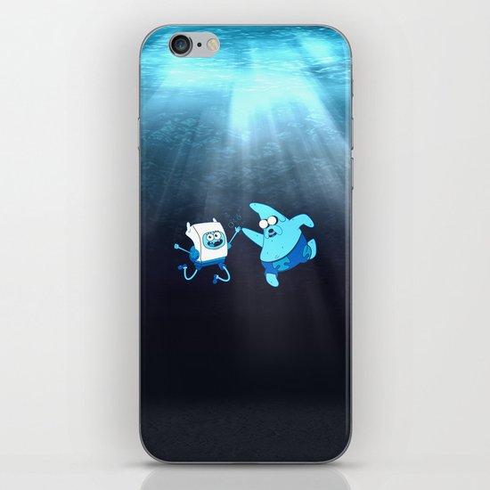SpongeFinn AdventurePants iPhone & iPod Skin