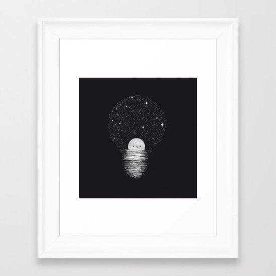 Natural light Framed Art Print