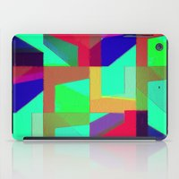 Colorful Truth. Green. iPad Case