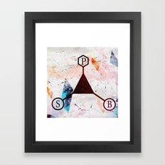 SpB Framed Art Print