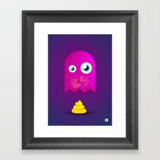 Game Over Pac. Framed Art Print