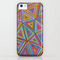 iPhone 5c Cases featuring Triangle by Neon Wonderland
