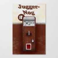 Jugger-Nog Canvas Print