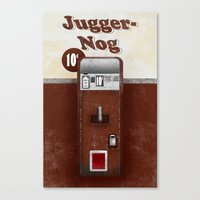 Jugger-Nog Canvas Print