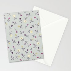 small vintage tulips Stationery Cards