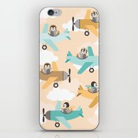 These birds want to fly iPhone & iPod Skin