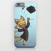 Graduate Cat iPhone 6 Slim Case