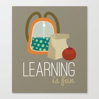 Backpacks & lunch sacks Canvas Print